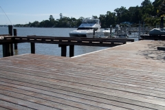 Non-Toxic Floors Australia Before Timber Deck Enviro Deck Oil Coating