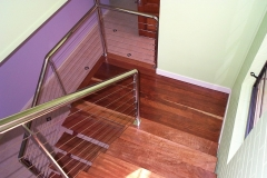 Non-Toxic Floors Australia Staircase Sanding Brisbane - Enviro Floors Timber Coatings